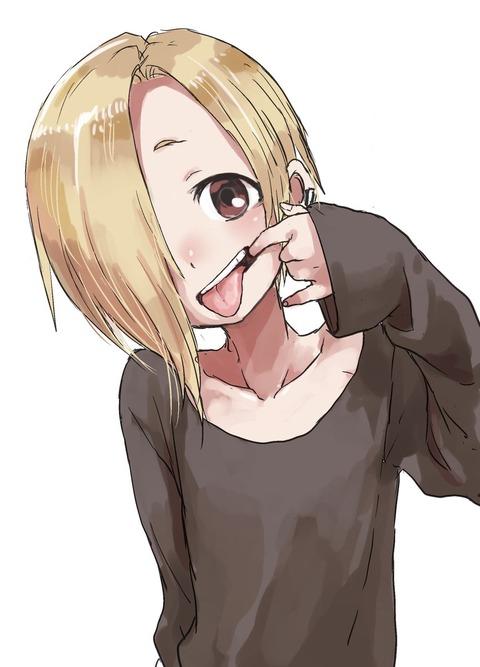 《高木さん》作者が描いた「アイドルマスターシンデレラガールズ・歯を見せてる小梅ちゃん」がなんとも言えない可愛さ