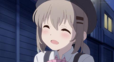 《ヤマノススメ サードシーズン(3期)》7話感想・画像 バイト姿がとても可愛いらしい!ここなちゃん良かったね