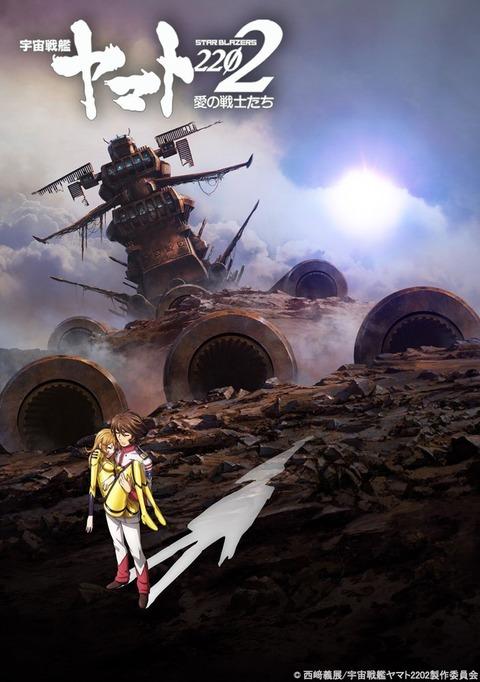 劇場アニメ「宇宙戦艦ヤマト2202 愛の戦士たち」BD第6巻・回生篇予約開始!12月21日発売