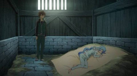《このすば》カズマって、よく一緒に寝てたアクアを襲わなかったよな