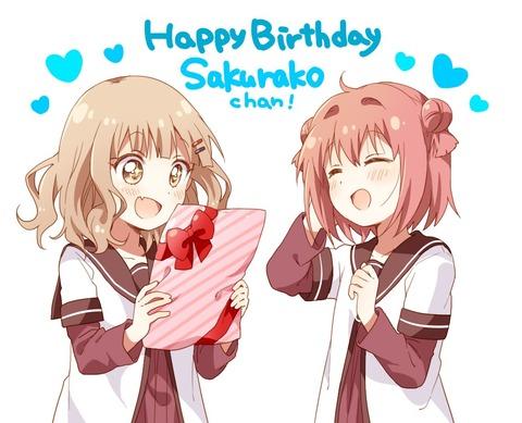 《ゆるゆり》なもり先生が描いた櫻子ちゃんの誕生日イラスト最高だな