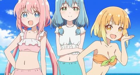 《えんどろ〜!》4話感想・画像 海で訓練!みんなの水着姿かわいい