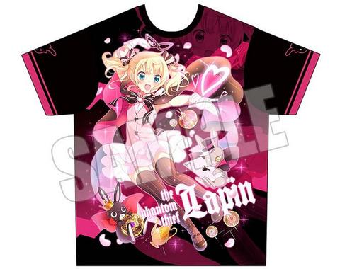 《C90》「ごちうさ」怪盗ラパンのフルグラTシャツが早くも完売に!今年もごちうさはやはり強いな