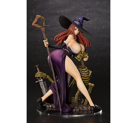 《ドラゴンズクラウン》フィギュア「ソーサレス」予約開始!幾多の魔法を駆使する魔女が貴方を魅了する