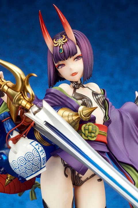 《Fate/GO》フィギュア「アサシン/酒呑童子」予約開始!最も戦闘的な様相の、第三再臨での立体化