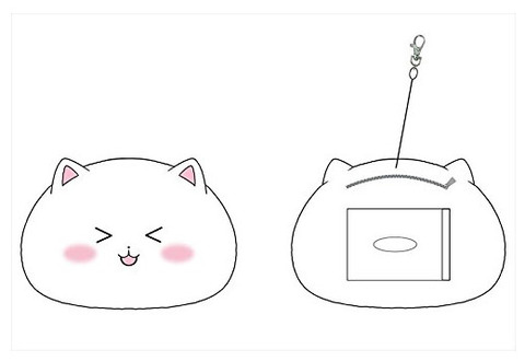 《ごちうさ》ぬいぐるみパスケース「ティッピー」&「あんこ」予約開始!!!