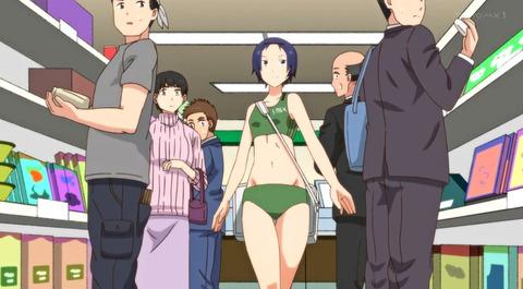 《ちおちゃんの通学路》8話感想・画像 細川さんが露出狂だったなんて・・・
