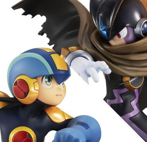 《ロックマンエグゼ》フィギュア「ロックマン vs フォルテ」予約開始!ロックマンとフォルテを激闘のシーンをイメージしたジオラマとして立体化