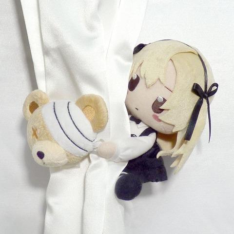 《ガルパン》島田愛里寿&ボコの「はぐっと!ぬいぐるみタッセル」が可愛すぎる