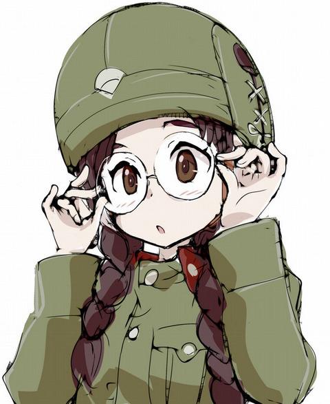 《ガルパン》福田ってよく見ると可愛いよね?