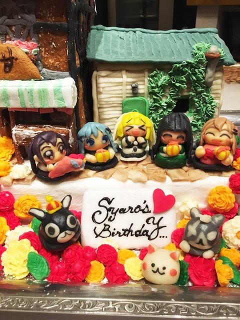 《ごちうさ》シャロちゃんのお誕生日を公式が特製ケーキでお祝い!このケーキは食べるのもったいなすぎる