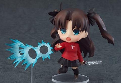 《Fate/stay night》ねんどろいど「遠坂凛(再販)」予約開始!「アゾット剣」と「宝石剣ゼルレッチ」も付属