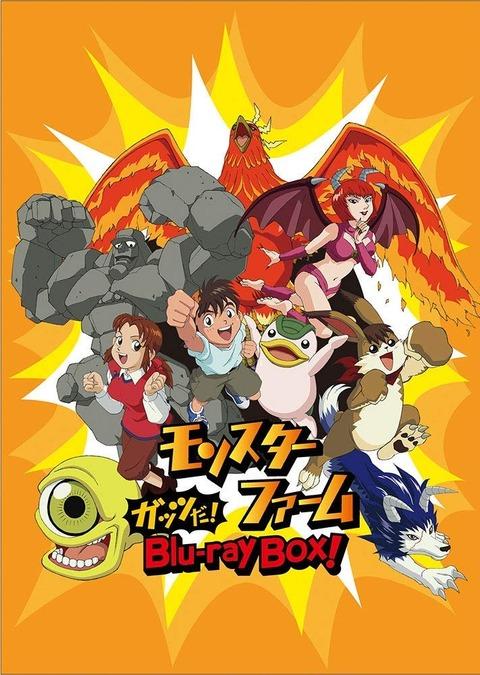アニメ「モンスターファーム」BD BOX予約開始!ガッツ全開な冒険がBlu-rayで再び蘇る
