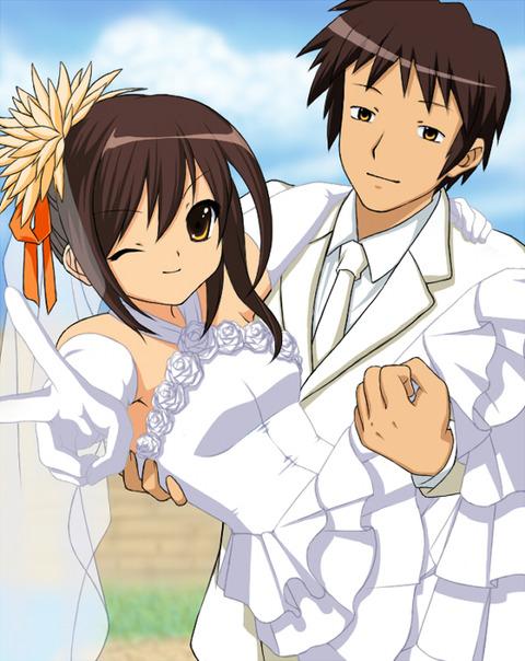 ハルヒとキョンって将来的に結婚までいくと思う?