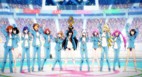 《競女!!!!!!!!》12話(最終回)感想・画像 ここまで熱く激しく面白おかしい競女というアニメに出会えて良かったです