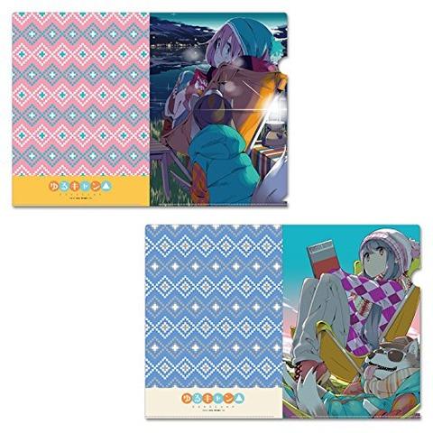 《ゆるキャン△》クリアファイルセット「原作版2種」予約開始!!!