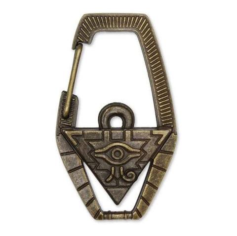 「遊戯王 千年パズル レリーフカラビナ」予約開始!裏面にはエジプト象形文字を刻印