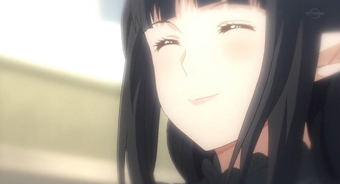 《異世界食堂》11話感想・画像 クロちゃんあんな素敵な笑顔するんだね