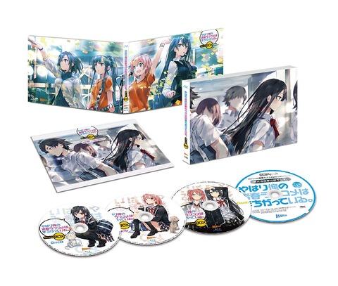 アニメ「俺ガイル」第1期&第2期BD BOXが2020年3月に再発売!!!