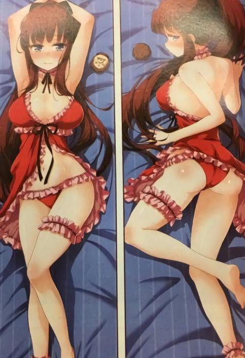 《NEW GAME!!》夏コミで発売される「ひふみんの抱き枕」セクシーすぎwwwwww