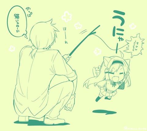 《ロクでなし魔術講師と禁忌教典》三嶋くろねが描いた、いつもより猫っぽいシスティが可愛い