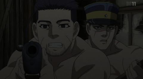 《ゴールデンカムイ第2期》9話(21話)感想・画像 暗闇での戦い