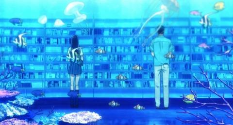 《恋は雨上がりのように》6話感想・画像 本の水族館綺麗!しっかりと物語も動いてきた