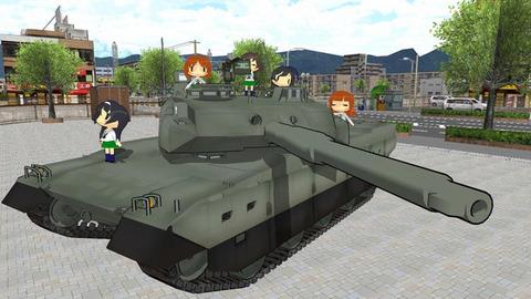 《ガルパン》あんこうチームの戦車がもしも「10式戦車」だったらもっと簡単に優勝してたの?