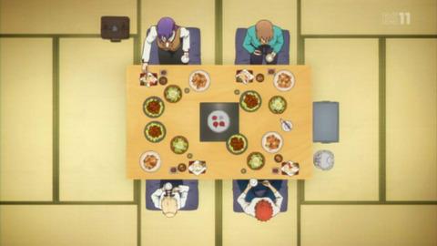 《Fate》アニメのこの食事シーンさ量おかしくね???
