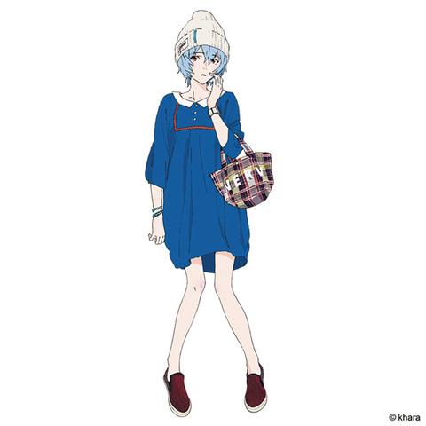 《エヴァ》の綾波レイとデートするならどの私服で来て欲しい?