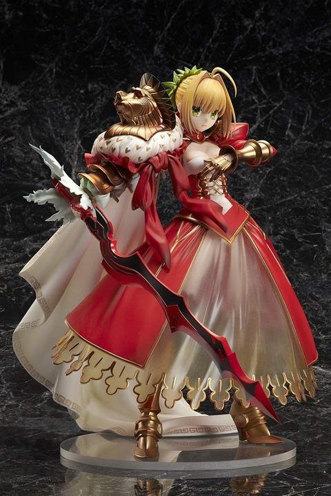 《Fate/GO》フィギュア「セイバー/ネロ・クラウディウス〔第三再臨〕」予約開始!たなびく大型のマントが忠実に再現