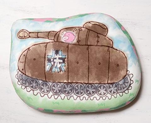 「ガルパン むにゃもちよんごうせんしゃ クッション」予約開始!お餅みたいに柔らかく、夢見心地のような肌触り