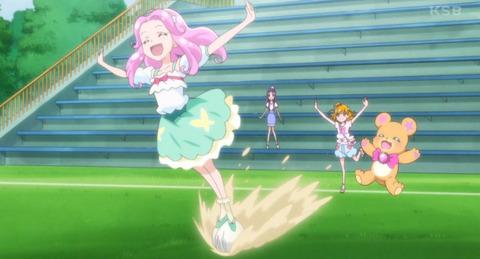 《魔法つかいプリキュア!》32話感想・画像 はーちゃんのサッカーがどうみてもゼグウェイwww