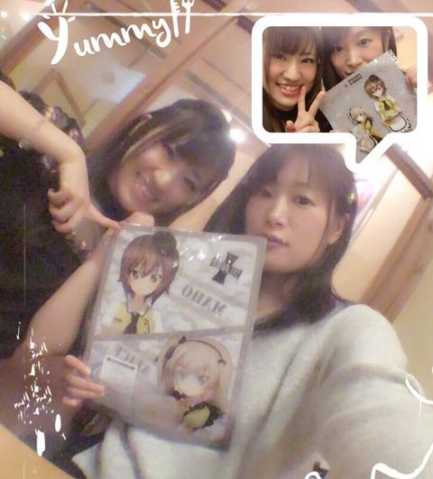 《ガルパン×ココス》最終日を堪能するアンチョビの声優・吉岡麻耶さんと河西の声優・桐村まりさん