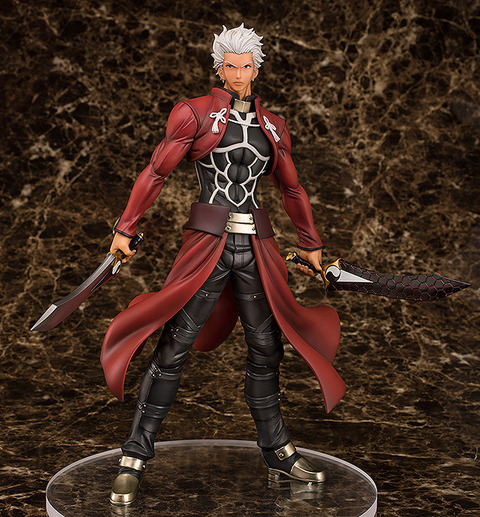 《Fate/stay night》フィギュア「アーチャー Route:Unlimited Blade Works 1/7スケール」予約開始!あなたの傍らにアーチャーを顕現させて下さい