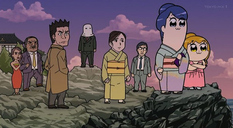 《ポプテピピック》10話感想・画像 コナンネタがダイレクトアタック