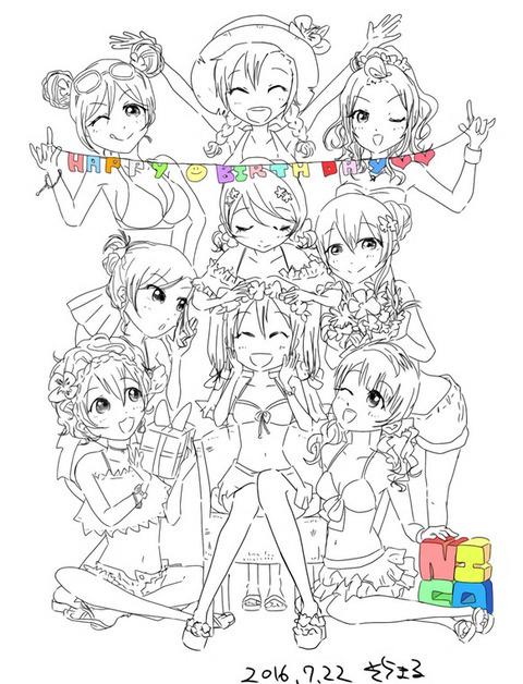 声優の徳井青空さんが「ラブライブ!」矢澤にこちゃんのお誕生日をイラストでお祝いしているぞ