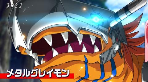 《デジモンアドベンチャー:》10話感想・画像 グレイモン超進化!メタルグレイモン!!