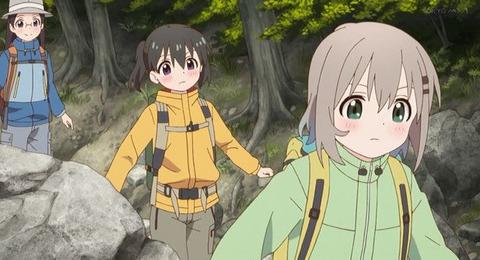 《ヤマノススメ サードシーズン(3期)》11話感想・画像 せっかく久々に山登ったのになんて不穏なんだ