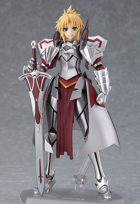 "《Fate/Apocrypha》figma「""赤""のセイバー」予約開始!「キメ顔」「好戦顔」「目閉じ笑顔」をご用意"