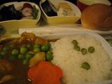 機内食カレー