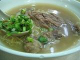 牛肉入り麺