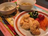 ゆうなの夕食1