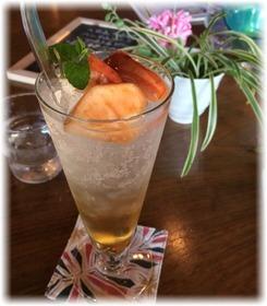 リンゴ酢ソーダ