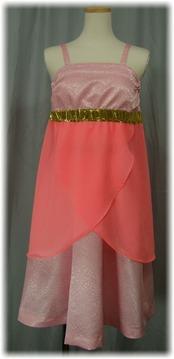 ピンクのキャミドレス