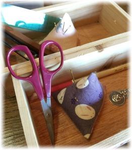 お裁縫道具の準備