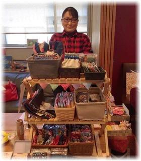 仕立屋みきマム.は布小物販売とワークショップします