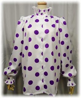 シロ中2時のカラーガード衣装