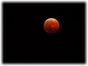 裸眼でも何とか【赤い月】観れました