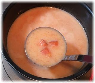 にんじんスープとリンゴ